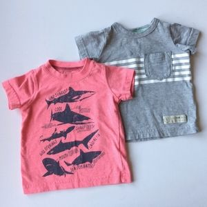 Carter's Summer Graphic T-shirts * 3 Months